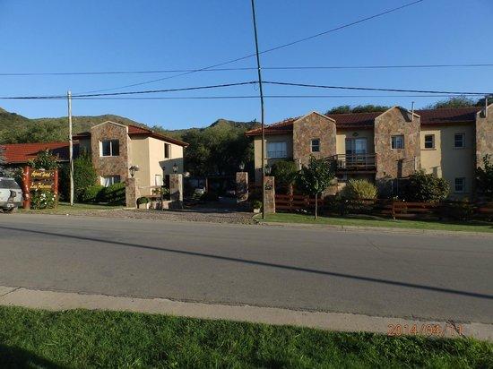 Apart Las Palmeras: Vista exterior