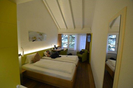 Hotel Sommerau : Chambre