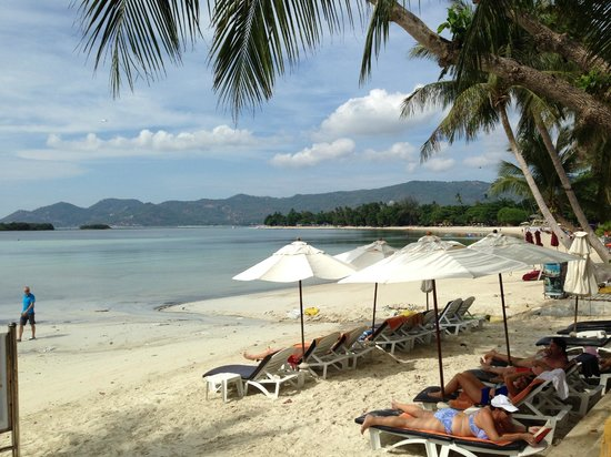 Novotel Samui Resort Chaweng Beach Kandaburi: Beachfront