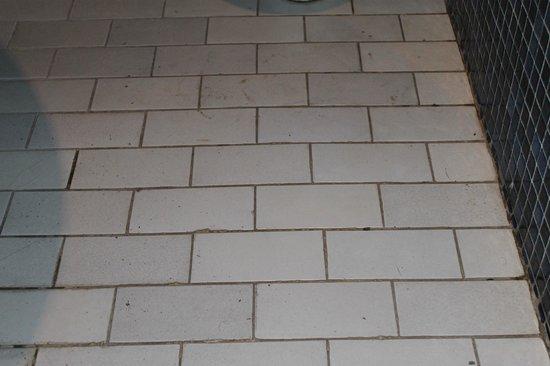 Hotel Oudaya: Bathroom floor