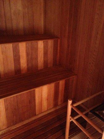 Ponta dos Ganchos Exclusive Resort: Sauna no bangalô