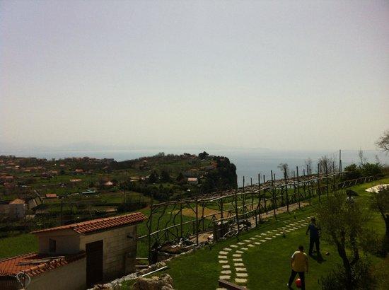 Casa Pendola: Dal terrazzino della camera