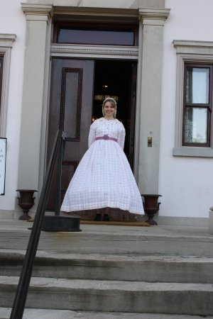 Belle Meade Plantation: our guide, amy