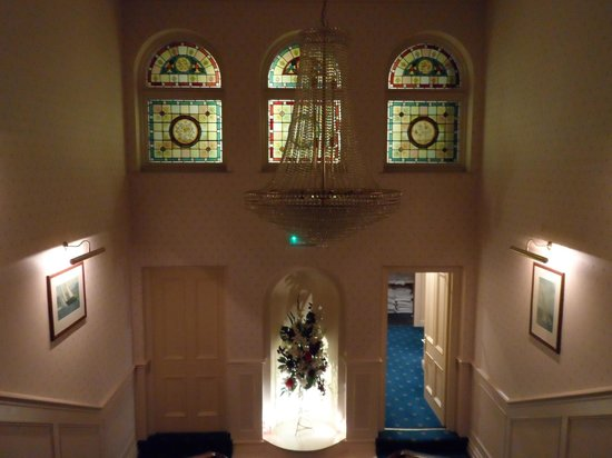 The Tower Hotel: gorgeous stained glass