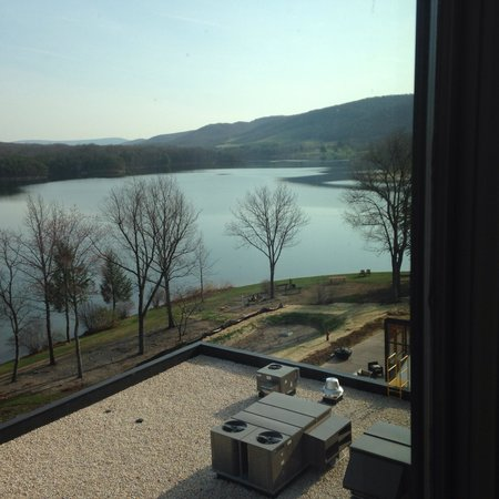 Rocky Gap Casino Resort: View from my room