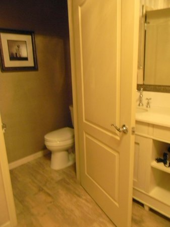 AmishView Inn & Suites: Water Closet
