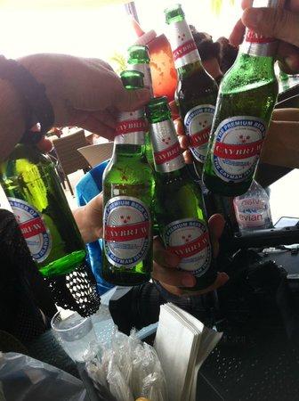 Royal Palms Beach Club: Toasting to a wonderful trip