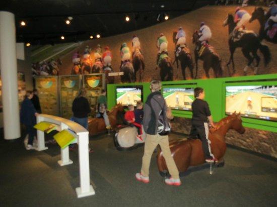 Kentucky Derby Museum: Horse Ride for kids