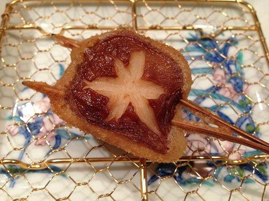 Kushikatsu Bon: grilled mushroom