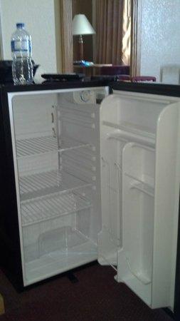 Whispering Hills Inn: very clean fridge