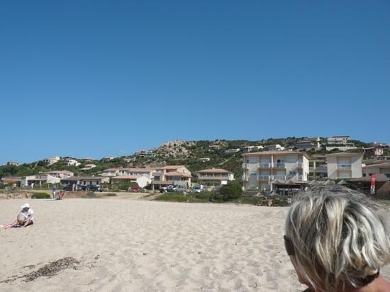 Hotel du Golfe : plage de sable fin