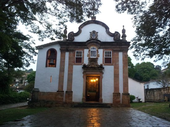 Our Lady of Rosario dos Pretos church : Vista externa