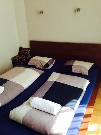 Maverick Hostel: comfy bed