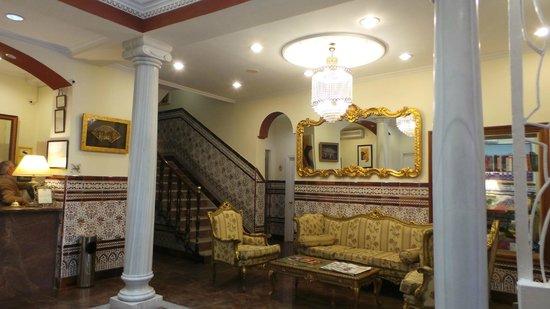 Hotel Maestranza : Este es el Lobby