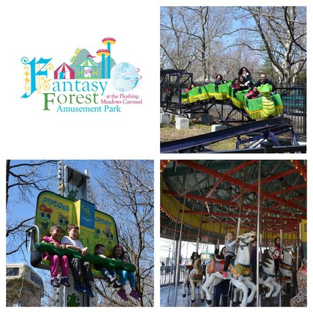 ‪Fantasy Forest Amusement Park at the Flushing Meadows Carousel‬