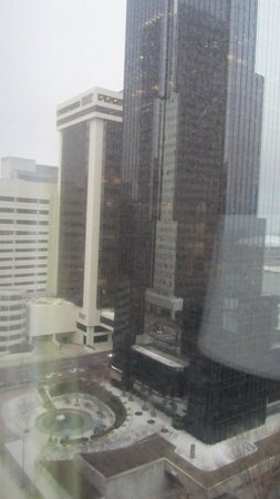 Hilton Charlotte Center City : View