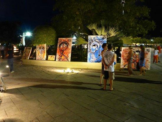 Art Walk at Gallery District SJC: the art walk, shops and restaurants