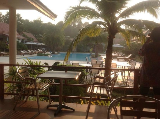 Armonia Village Resort and Spa: View from  breakfast