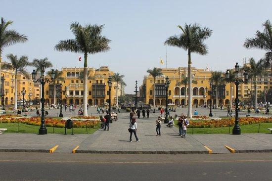 Plaza de Armas (Plaza Mayor): Praça de Armas