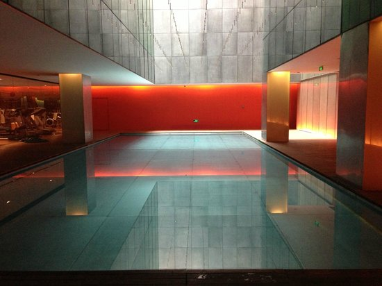 The Opposite House: Another picture of the most relaxing pool!