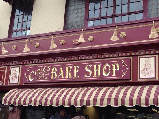 Carlo's Bakery : The original store in Hoboken.
