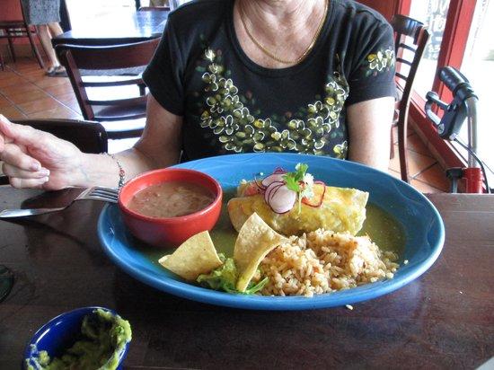 Monicos Taqueria : Enchiladas Verde, $12.95