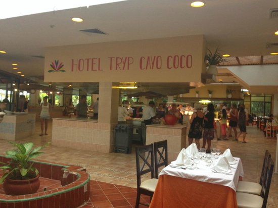TRYP Cayo Coco: The Buffet Restaurant