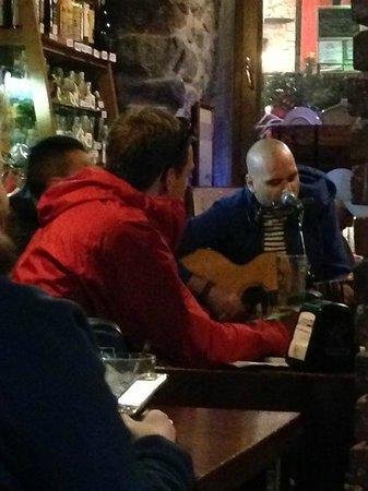 La Cantina dello Zio Bramante : jam session - glad they played a lot of blues