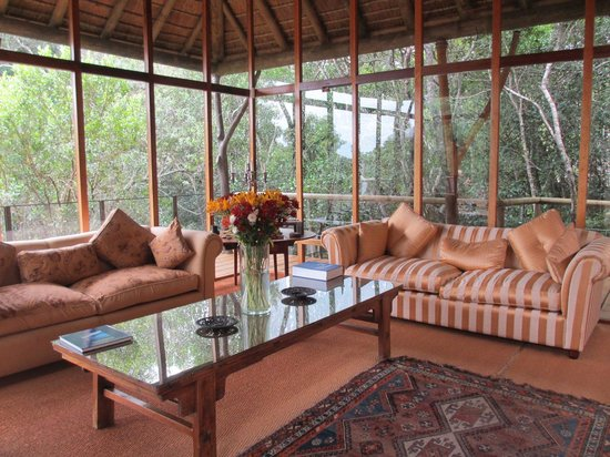 Trogon House and Forest Spa: Lounge area