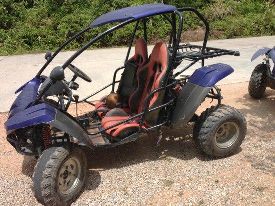 Kata Beach Resort and Spa: Off road buggy, great fun!