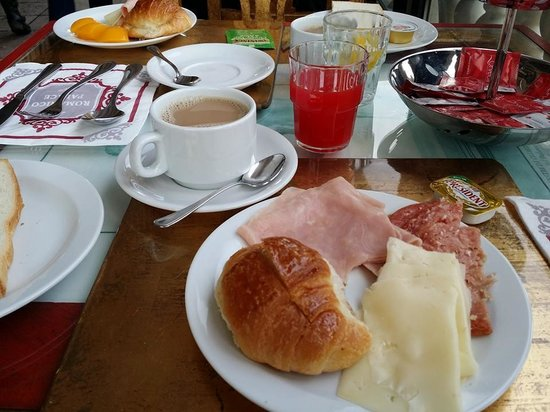 Hotel Romanico Palace: Our breakfast, it was very filling... Coffee was good too...