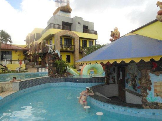 Jacumã, PB: Área da piscina