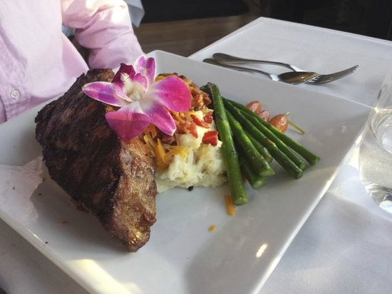 Kristy's Wood Oven and Wine Bar: steak