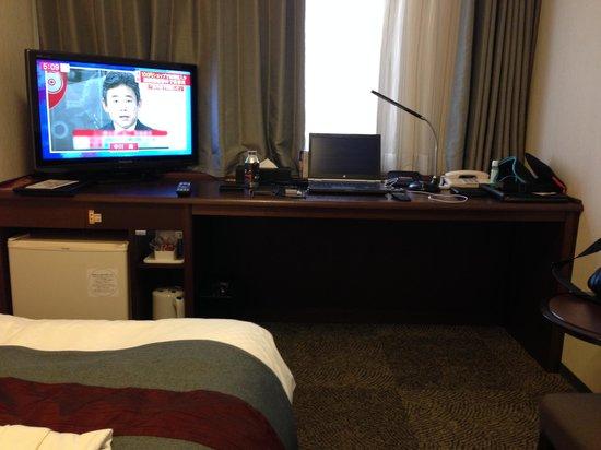 Richmond Hotel Utsunomiya Ekimae: 居心地の良いレイアウト