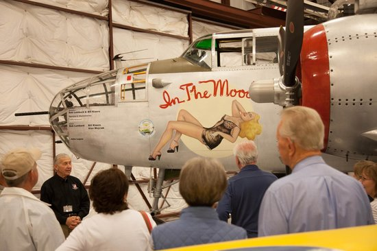 National Museum of World War II Aviation: A vary famous and flyable B25.