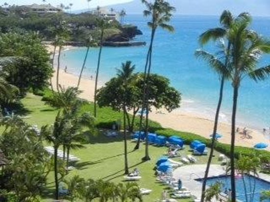 Royal Lahaina Resort: Our view from room 8029