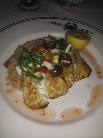 Truluck's Seafood, Steak, and Crab House: halibut