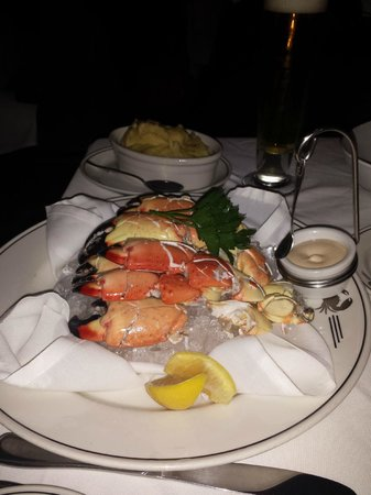 Truluck's Seafood, Steak, and Crab House: stone crab legs