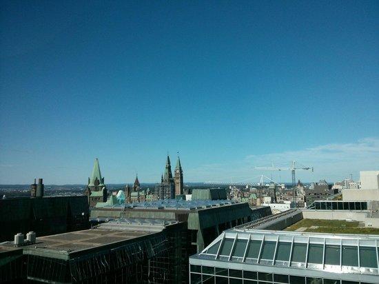 Ottawa Marriott Hotel : The Parliament view