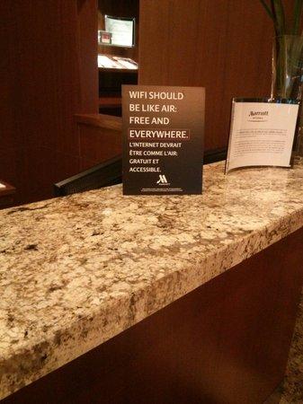 Ottawa Marriott Hotel : Amen