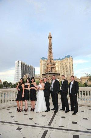 Paris View Picture Of Bellagio Wedding Chapels Las Vegas