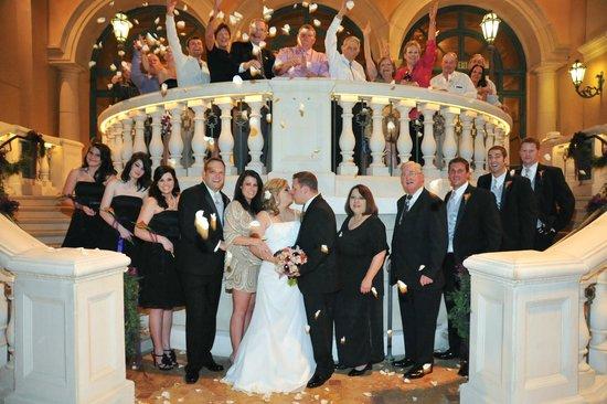 Bellagio Wedding Chapels Party