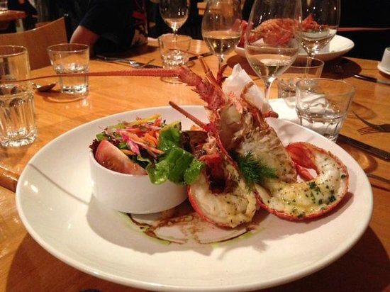 Green Dolphin Restaurant & Bar: Gridled Crayfish