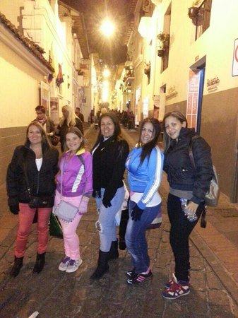 Calle La Ronda: Con la familia