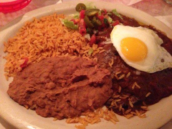 Chuy's: Southwestern Enchiladas
