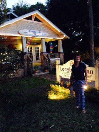 Anchor Inn : The Longboard Inn at night