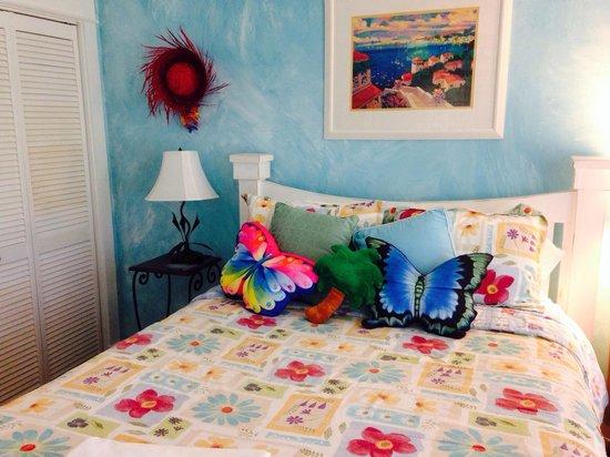 Anchor Inn : The Sky Blue room