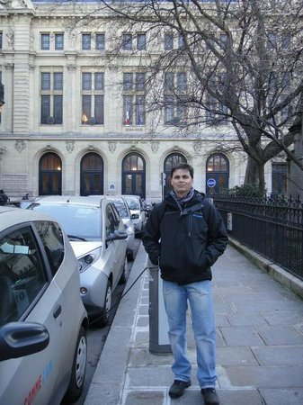 La Sorbonne : Entrada da Sorbonne