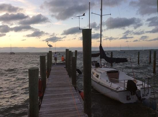 Key Lime Sailing Club and Cottages: the end of a beautiful day of sailing