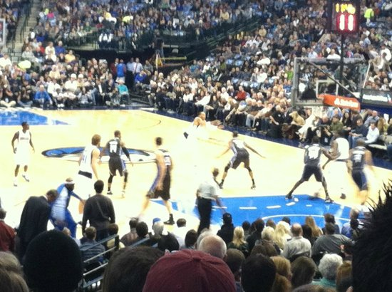 American Airlines Center: Mavs game